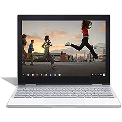 """Google Pixelbook (128 Go SSD, 8 Go de RAM, Clavier QWERTY UK, Intel Core i5, Chrome OS) écran Tactile Wi-FI Ordinateur Portable 12,3"""" (Argent) - Version Internationale"""