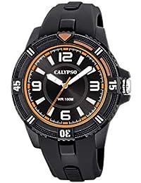 93b55d4f41f5 Calypso Watches Unisex Adult Analogue Classic Quartz Watch with Plastic  Strap K5759 4
