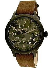 8d7d809c0998 Timex Reloj Analogico para Hombre de Cuarzo con Correa en Cuero TW4B06600