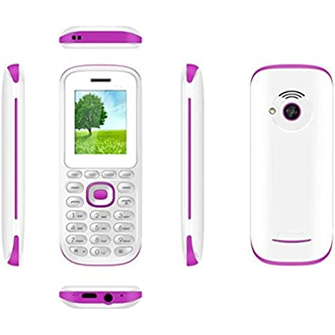 Telefono smartphone per anziani Dual Sim display 1.77