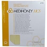 MEDIHONEY HCS Hydrogelverband 11x11 cm non-adhesiv 10 St preisvergleich bei billige-tabletten.eu