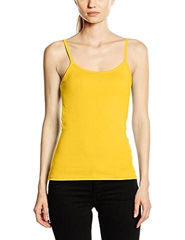 Fruit of the Loom SS089M, T-Shirt Femme - Jaune (Sunflower Yellow) - 38