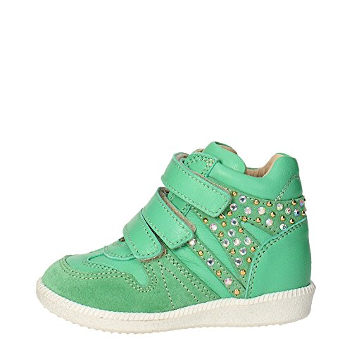 Florens E6230 Sneakers Bambina Pelle Verde Verde 22