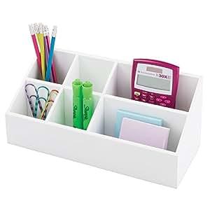 mdesign schreibtisch organizer aufbewahrungsbox f r b ro und kinderzimmer f r heftklammern. Black Bedroom Furniture Sets. Home Design Ideas