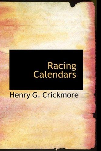 Racing Calendars