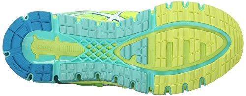 Asics Gel-Quantum 180 2 Maschenweite Laufschuh Safety Yellow/White/Blue /Jewel