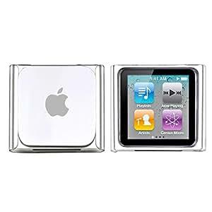 Cristal Housse Coque Etui Rigide Snap-in Protection Case Pour Apple iPod Nano 6 6G,Transparent