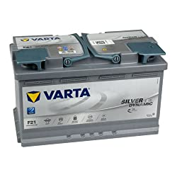 Varta 580901080D852 Silver Dynamic AGM Autobatterien, 12 V, 80 Ah, 800 A (EN)