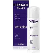 FORBALD – Champú anticaída cabello con vitaminas. Doble acción: fuerza y volumen del pelo