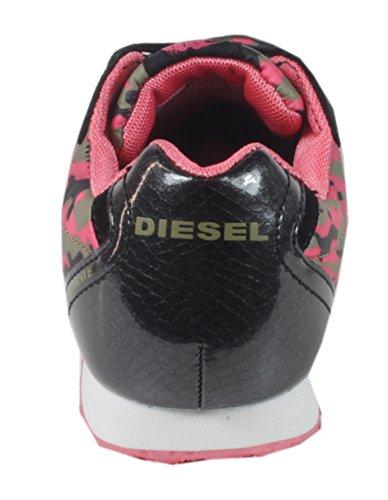 Diesel , Low-top femme Multicolore - Coral Comouflage