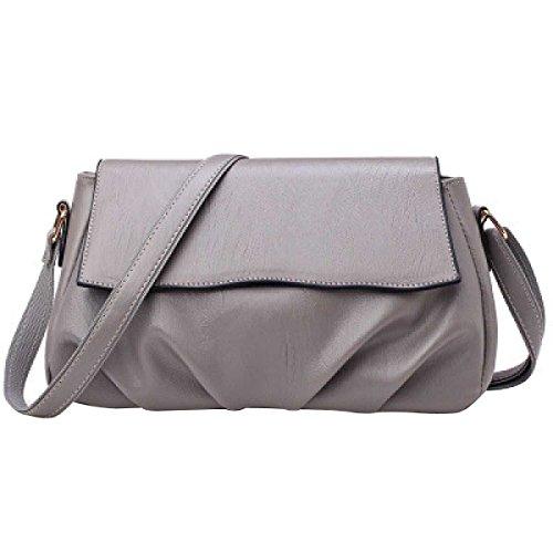 Frauen Arbeiten Schulter-Beutel-beiläufige Handtasche Grey