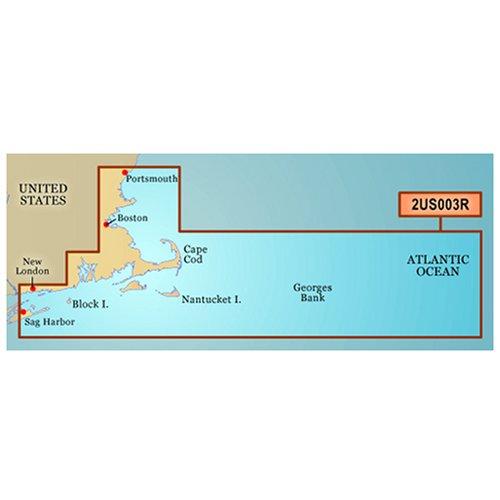 Garmin Charts 010-C0704-00 Vus003R BlueChart g2 Vision East Coast Cape Cod SD Card Nautical Charts