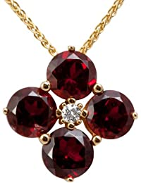 Diamond Line Damen - Halskette 333er Gold 1 Diamant ca. 0,045 ct., gelbgold