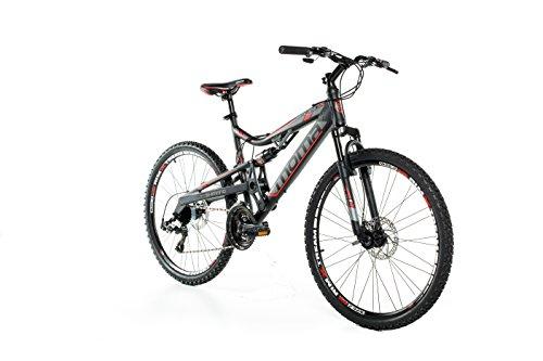 Moma bikes, Bicicletta Mountainbike 26' BTT SHIMANO, alluminio, doppio disco e doppia sospensione
