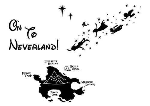 Disney Wandsticker Peter Pan Wandaufkleber Disney Charaktere