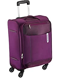 American Tourister Portugal Polyester 57 cms Plum Soft Sided Carry-On (AMT Portugal SP 57CM Plum)