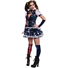 Rubie 's Official–Harley Quinn–Batman Arkham adultos disfraz de–tamaño mediano