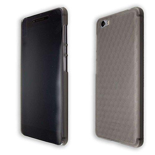 caseroxx Backcover für Vernee Mars Pro, Tasche (Backcover in schwarz-transparent)