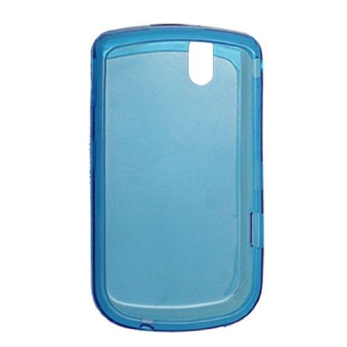 Clear Blue Soft Cover Fall-Schild für Blackberry 9630 9630 Cover