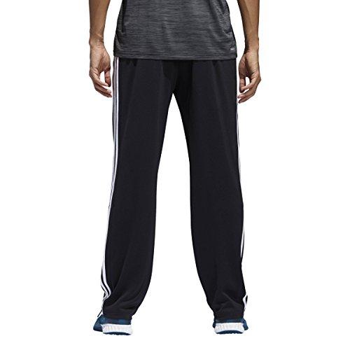 adidas Herren Trainingshose Climacore 3-Streifen, Herren, Schwarz/Schwarz/Weiß, Medium Adidas Warm Ups