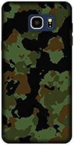The Racoon Grip printed designer hard back mobile phone case cover for Samsung Galaxy Note 5. (Military c)