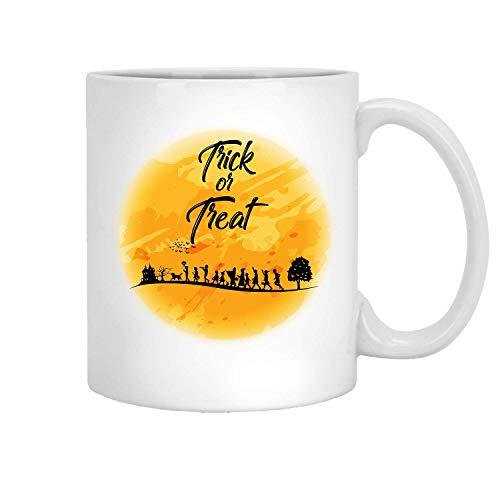Trick Or Treat Best Halloween, Gift For Halloween Lover - 11 Oz Coffee Tea Mug By Mirasuper