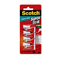 Scotch AD119 Single Use Super Glue Gel