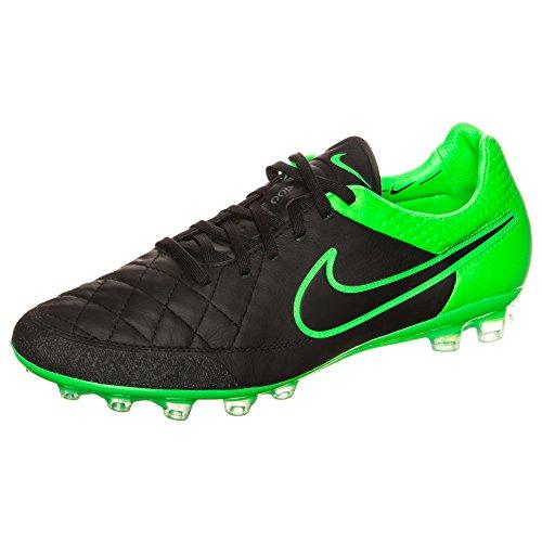 Nike Tiempo Legend V Ag-r, Chaussures de Football Homme Noir - black/black-green strike-green strike