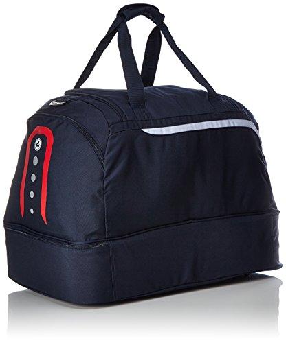 Jako Erwachsene Sporttasche Performance Marine/Weiß/Rot