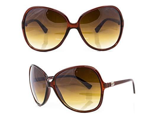 36017ef639cc DG Eyewear Women's Designer Sunglasses - Full UV400 Protection - Women  Fashion Oversized Sunglasses - Model