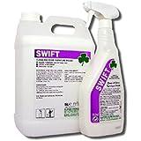 Trèfle produits chimiques bac021–5Swift Nettoyer et Shine meubles polonais, 5l Bocal (Lot de 2)