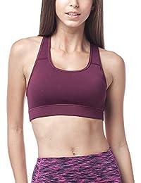 LAPASA Soutien-Gorge Brassière de Sport Femme sans Armature Dos Nageur -  Yoga Gym Fitness 1f9ff94d7fe