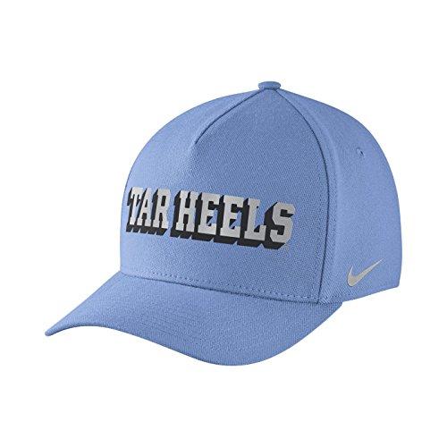 Nike North Carolina Tar Heels Dri-Fit DNA Verbiage Flex-fit Hat Cap Osfm Flex Cap