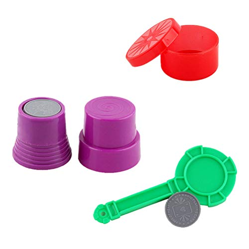 Magic tricks close-up street magic props coin giochi sealed magic child puzzle toy per bambini regali