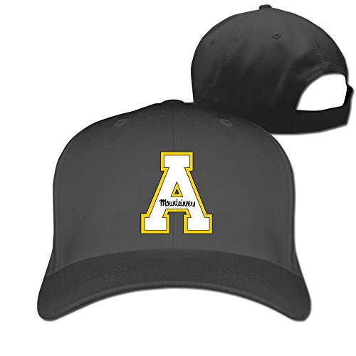 XCarmen Okpk Appalachian State Mountaineers Logo Unisex Hat Adjustable Baseball Cap Black
