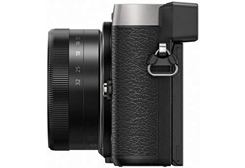 panasonic lumix dmc-gx80kegs fotocamera digitale mirrorless, 16 megapixel, dual i.s, kit 12-32 mm