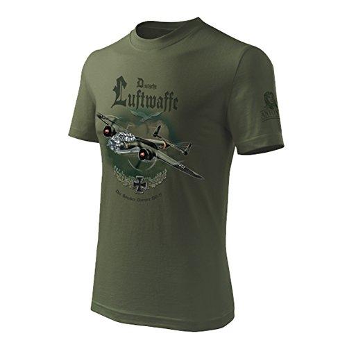 Antonio - Original for Pilots T-Shirt mit Bomber DORNIER DO 17 (XXL)