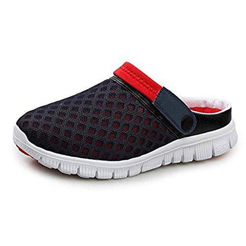 Largeshop Zuecos de Playa Piscina Verano Zapatillas Antideslizante Calzado Deportivo Running Unisex Mujer Hombre