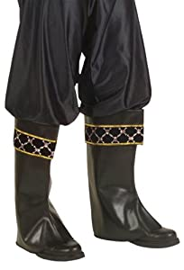 WIDMANN Pair of pirate boot covers for adults (accesorio de disfraz)