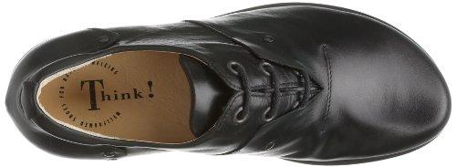 Think  Kong, Chaussures de ville à lacets pour homme Noir - Schwarz (SCHWARZ-00)