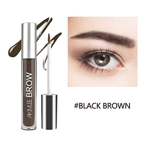 Wasserfest Augenbrauen Farben Gel Mit Pinsel Set,Anti-discoloration Eyebrow Gel Augenbrauenstift...