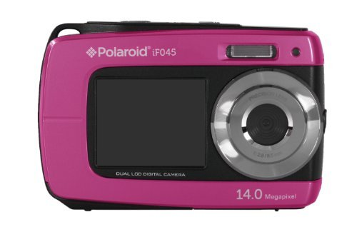 """Polaroid IF045 - Cámara compacta de 14 MP (Pantalla táctil de 2.7"""", Zoom óptico 5X), Color Rosa"""