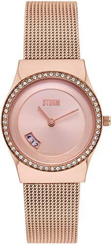 Storm London CYRO Crystal Rose Gold 47385/RG Reloj de Pulsera para Mujeres