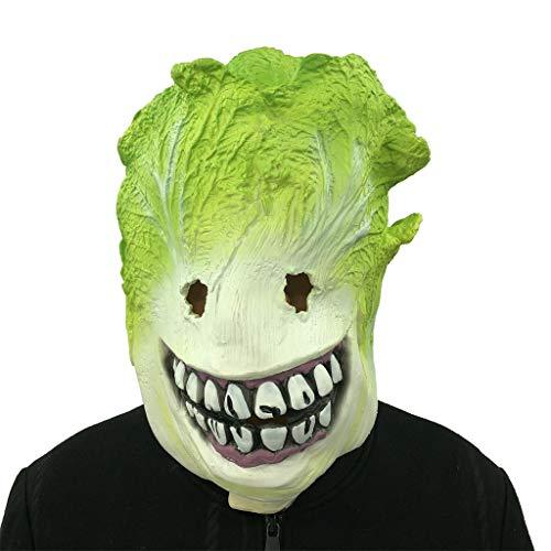 TAOtTAO Spinatmaske Parodie Maske Cosplay Kohl Monster Schmelzen Gesicht Latex Kostüm Sammlerstück Prop Scary Maske