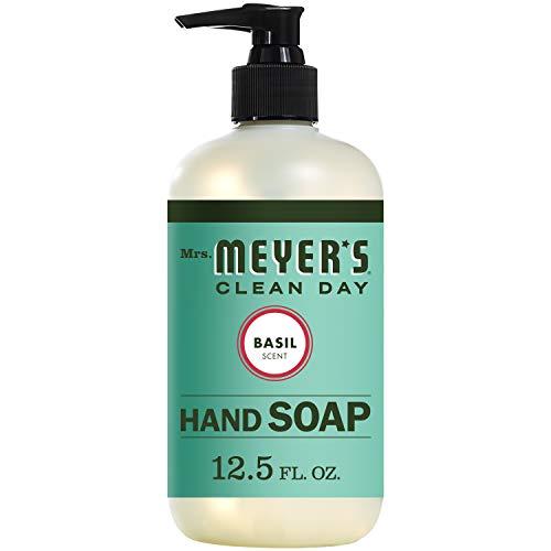 Mrs. Meyer's Clean Day Flüssige Handseife Basilikum - 370 ml (Basil Hand Soap Meyer)