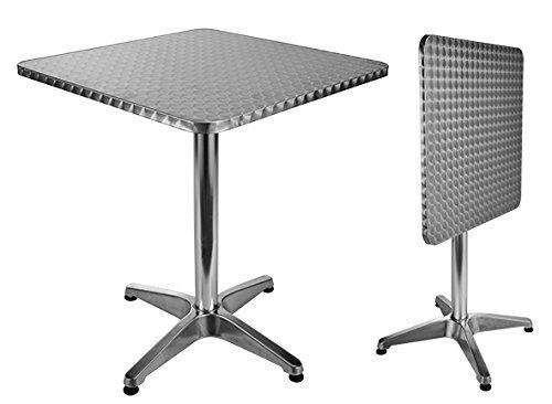 Bistro Tisch aus Aluminium