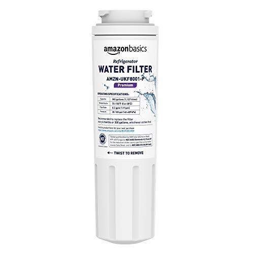 AmazonBasics Filtre à eau de rechange pour réfrigérateur Maytag UKF8001 - Filtration Premium