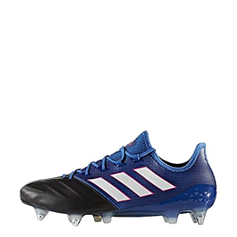 adidas Men's Ace 17.1 Leather Sg for Soccer Training Shoes, Blue (Azul/Ftwbla/Negbas), 12 UK
