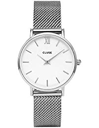 Reloj cuarzo para mujer Cluse Minuit Mesh CLUCL30009