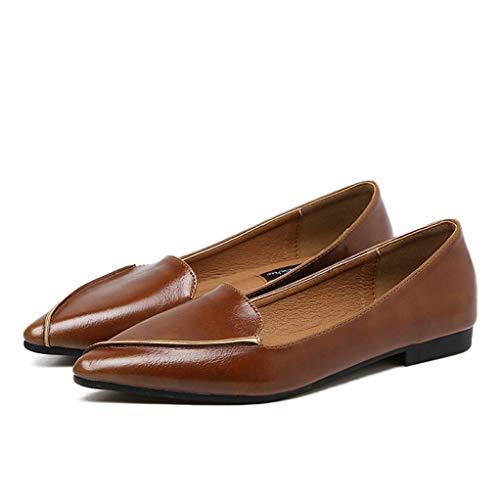 Frauen Leder Freizeitschuhe Luxus Marke Flache Schuhe Frau Bootsschuhe Slip On Loafers -